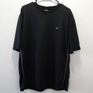🌵 Nike Vintage Mesh Short Sleeve Shirt L Black
